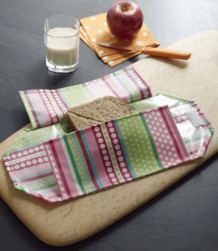 Reusable Sandwich Wrap Tutorial