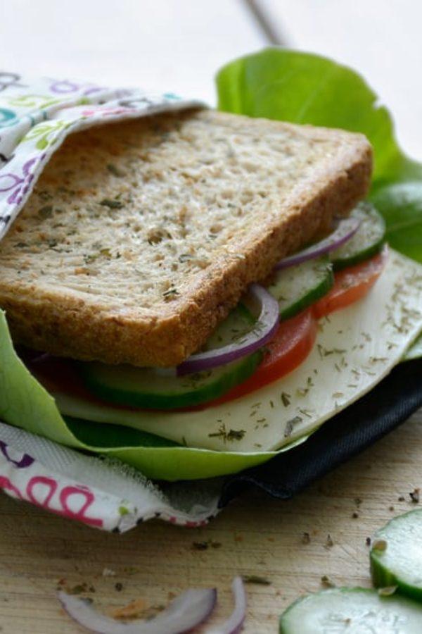 19 DIY Reusable Snack & Sandwich bags Ideas