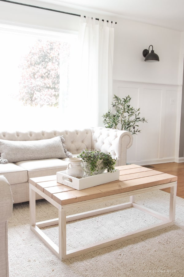 Simple DIY Coffee Table