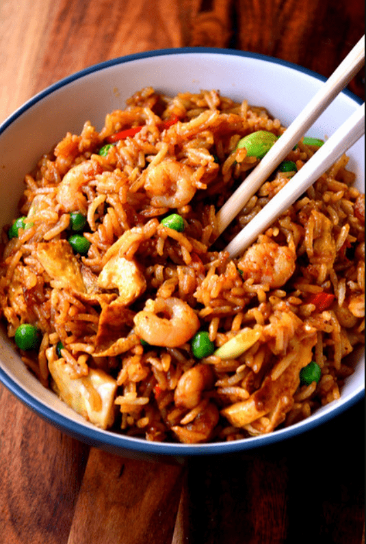 Singapore Street Food Fried Rice
