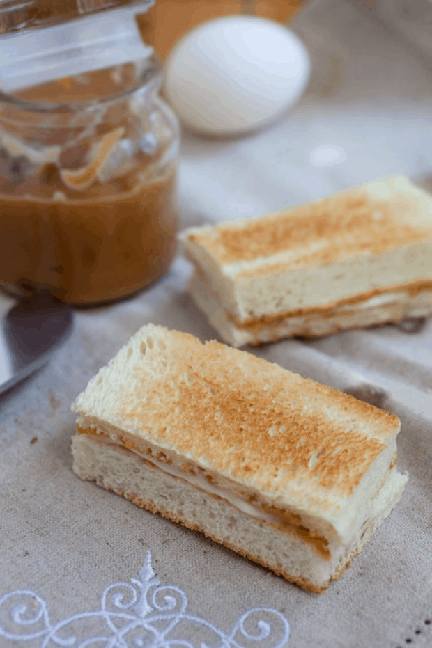 Singapore Street Food Kaya Toast