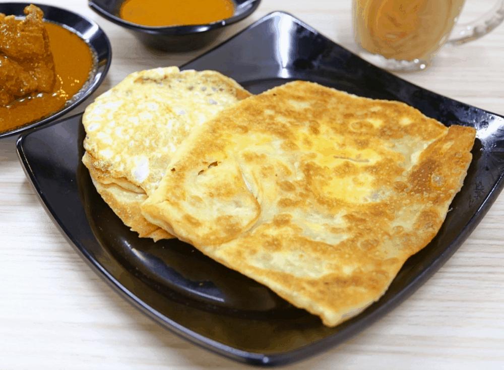 Singapore Street Food Roti Prata