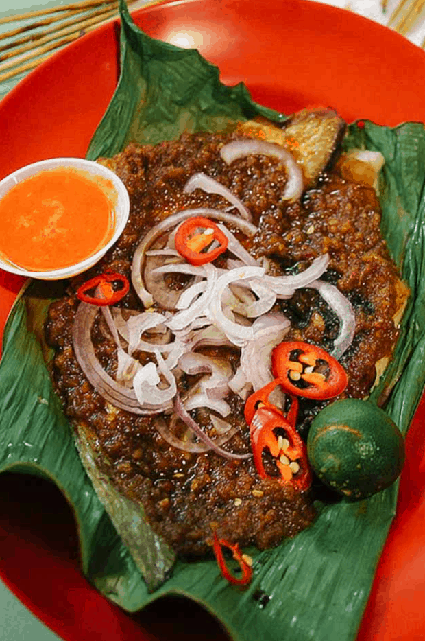 Singapore Street Food Sambal Stingray