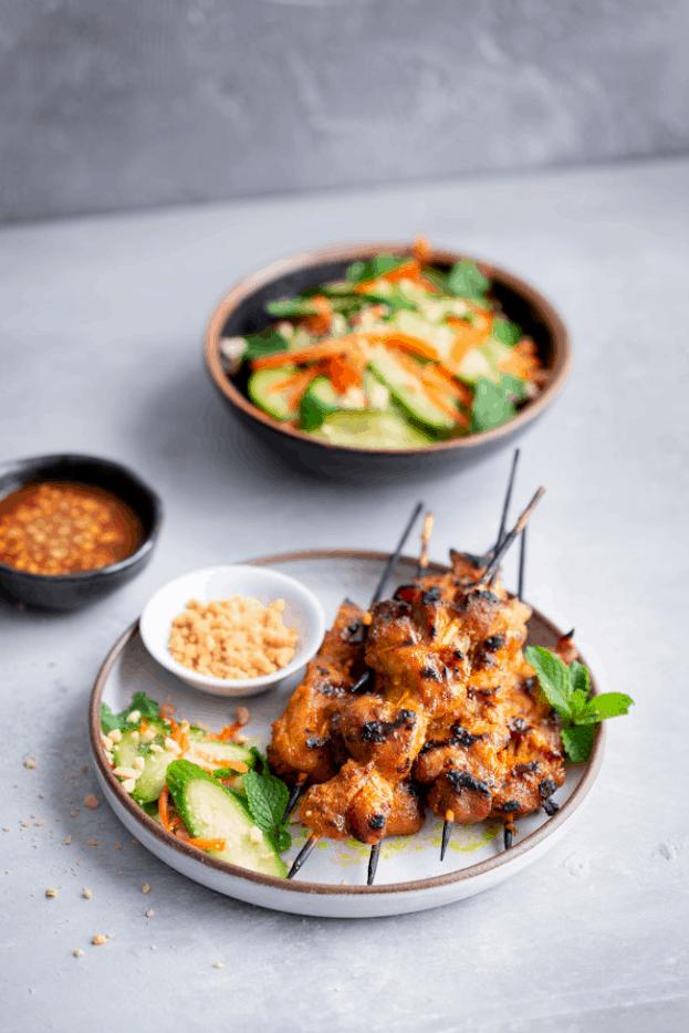 Singapore Street Food Satay