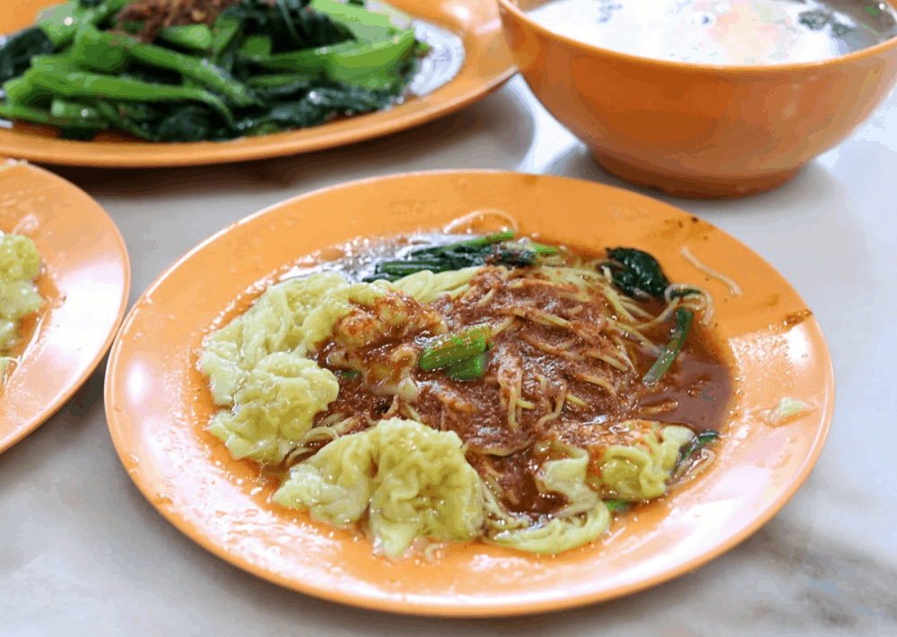 Singapore Street Food Wanton Mee