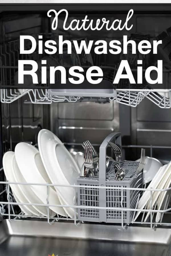Super Simple Natural Dishwasher Rinse Aid