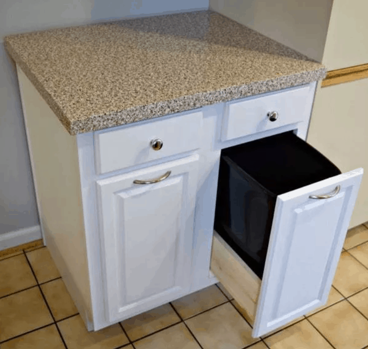 Trash Can Cabinet Tutorial