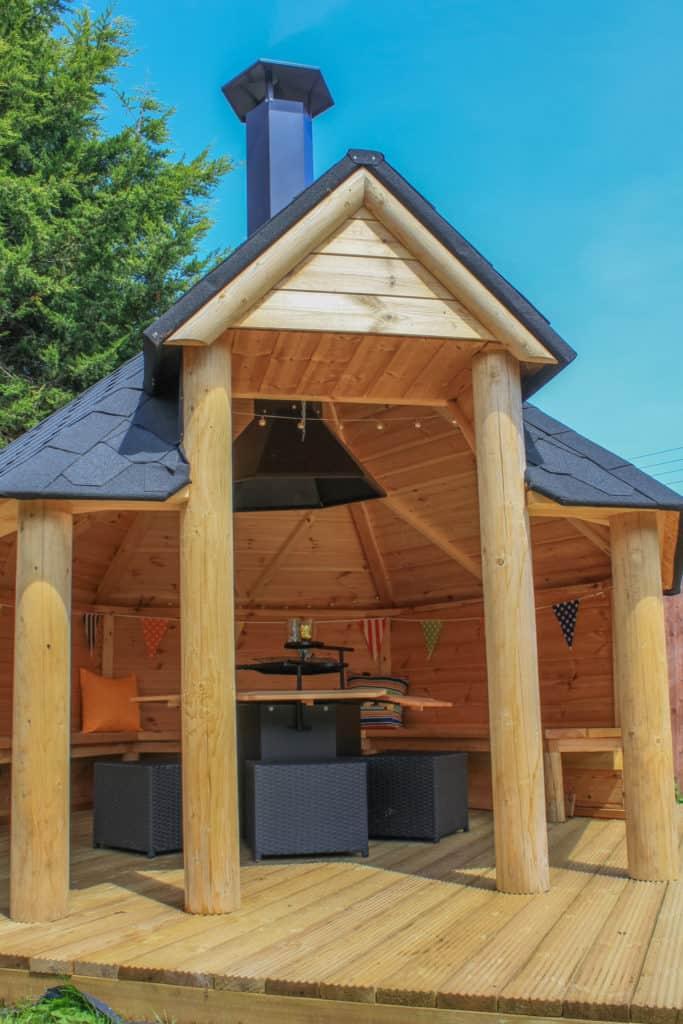 15 Homemade Grill Gazebo Plans You Can Build Easily