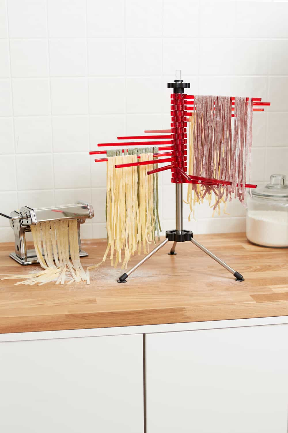 18 Homemade Pasta Drying Rack Plans You Can DIY Easily