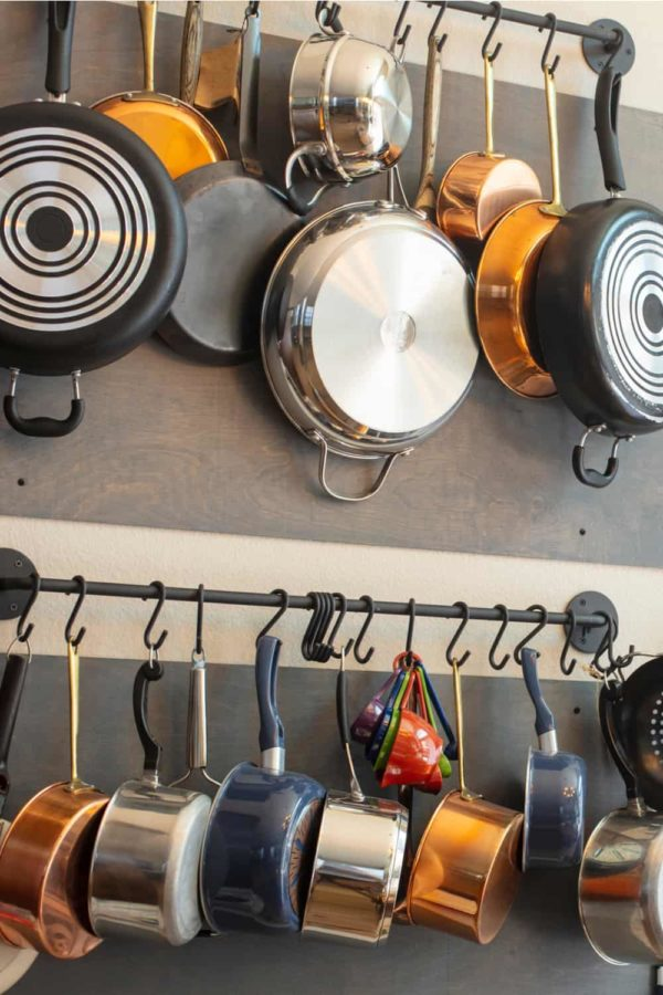 21 Homemade Pot and Pan Organizer Plans You Can DIY Easily