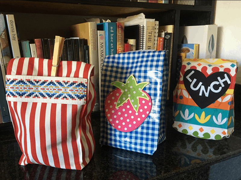 Back to School Style Make a DIY Lunch Bag