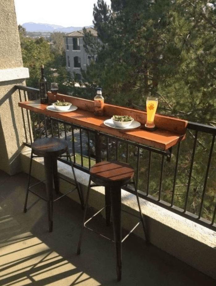 Balcony Bar Top