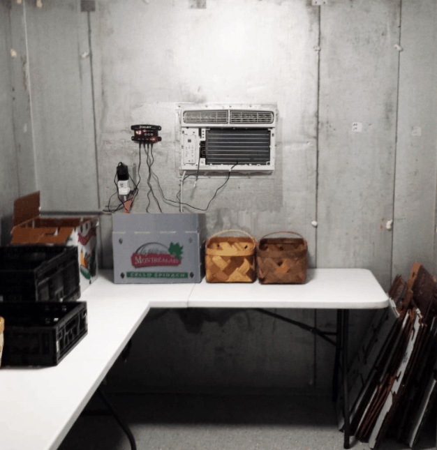Build Your Own Walk-In Cooler with a CoolBot Controller and AC Unit