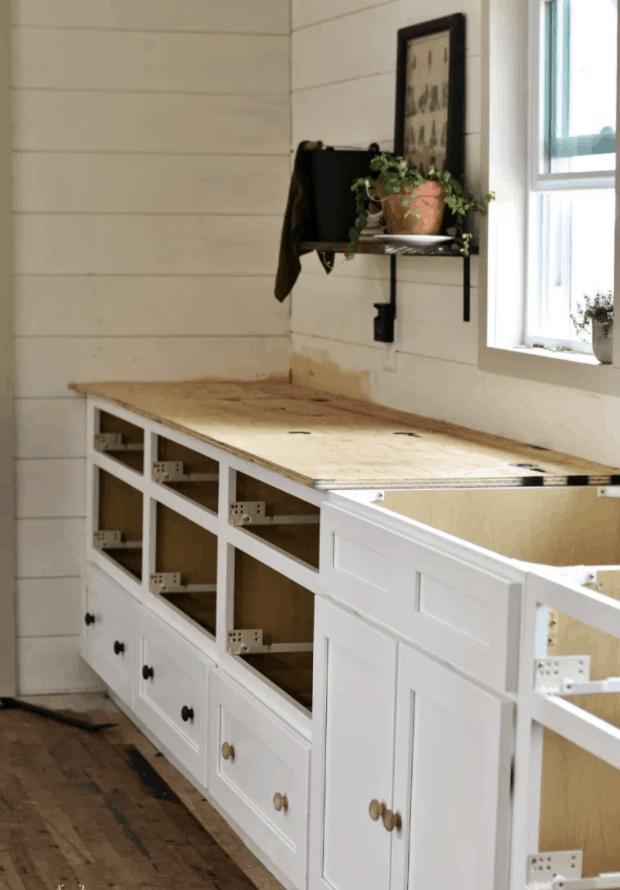 Building DIY Plywood Countertops