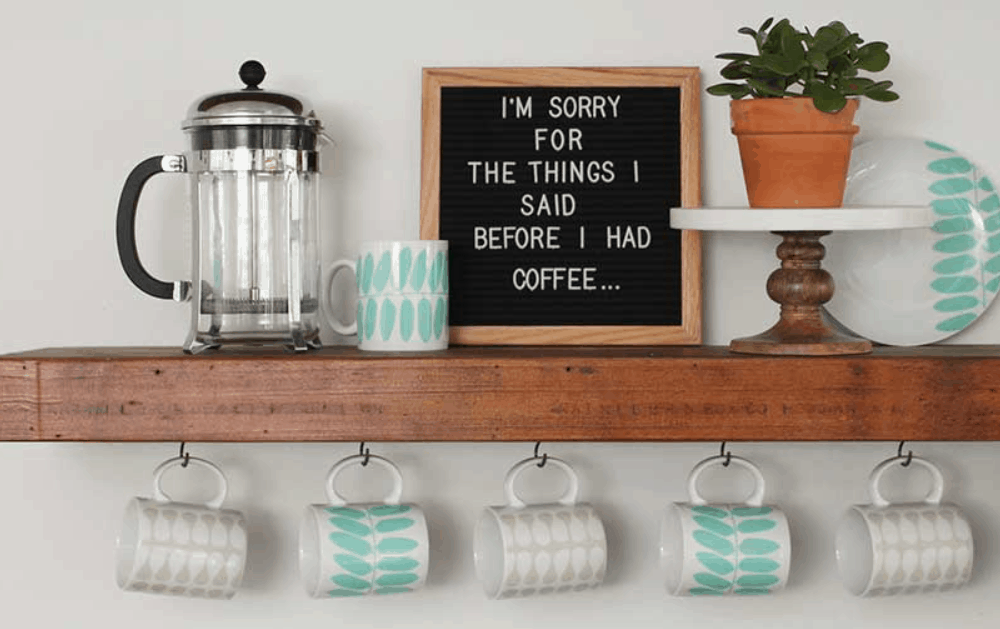 Coffee Bar DIY