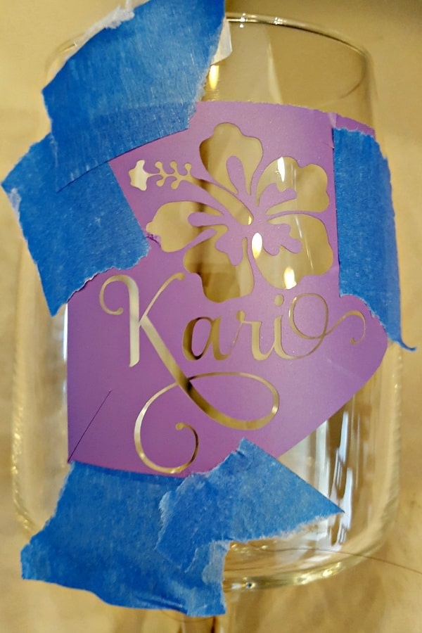 DIY Etched Glass Easy Step-by-Step Tutorial