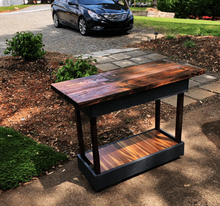 DIY Grill Table