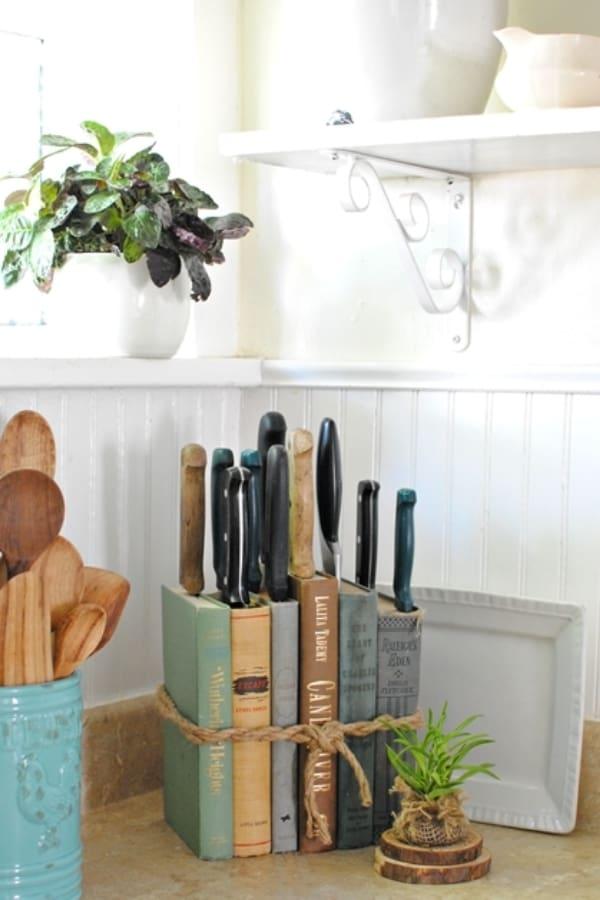 DIY Knife Holder – Flea Market Inspired