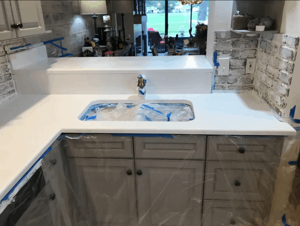 DIY Marble Countertops