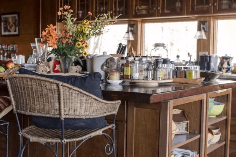 DIY Wood Bar Top Counter Construction