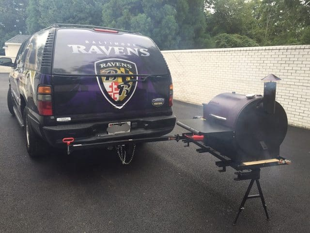 DIY Wood SmokerPellet Grill for Tailgating