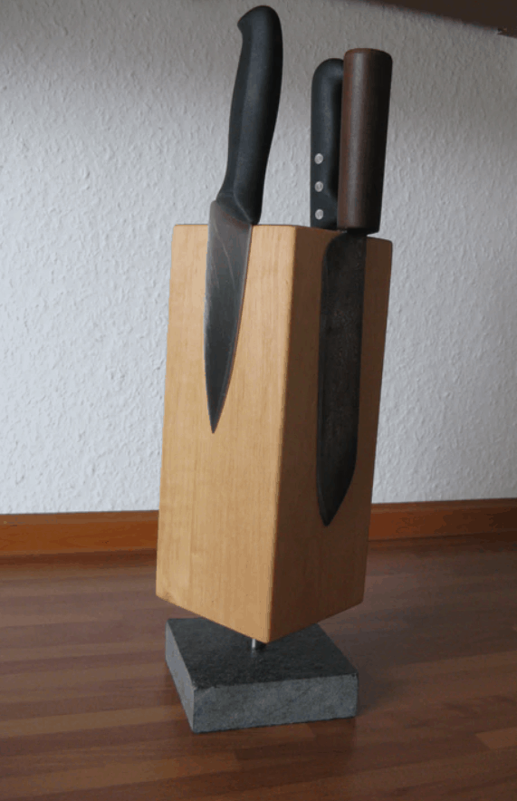 Designer Magnetic Knife Block