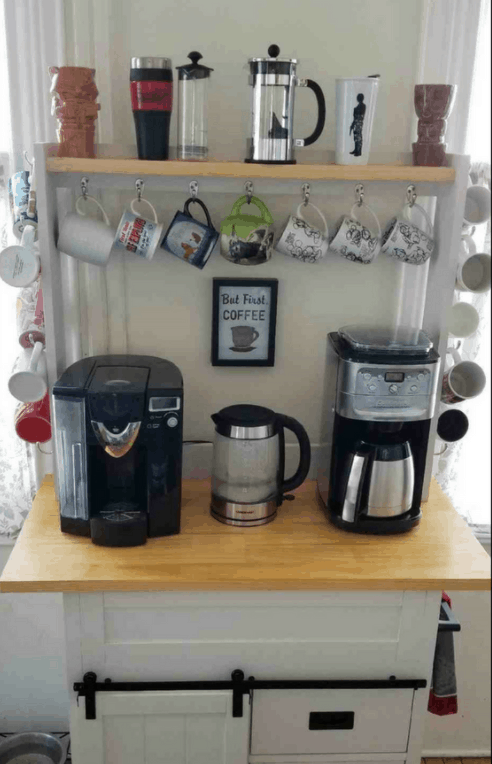 Four Easy Steps to Create Your Own Coffee Bar