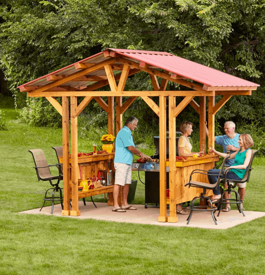 Grill Gazebo Plan Make a Grillzebo