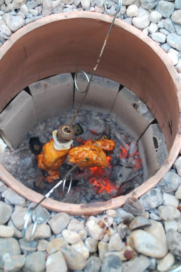 HOW TO MAKE A TANDOOR OVEN