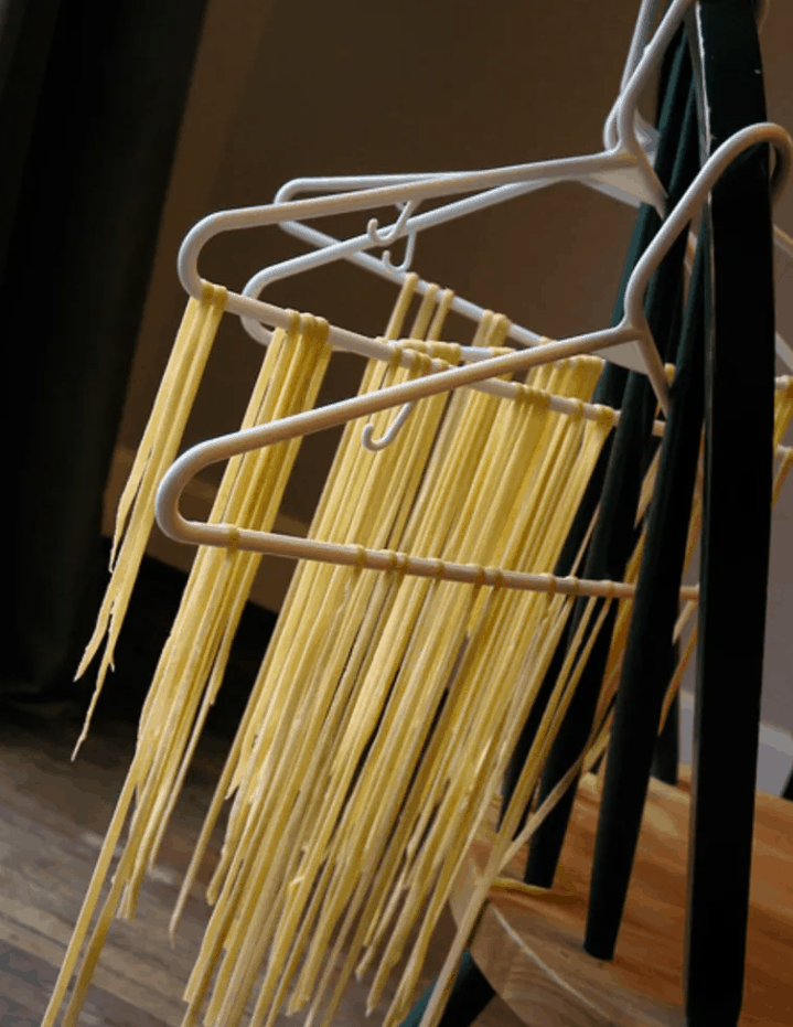 How To Dry Pasta Without a Rack