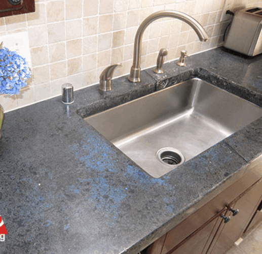 How To Polish, Seal And Restore A Concrete Countertop