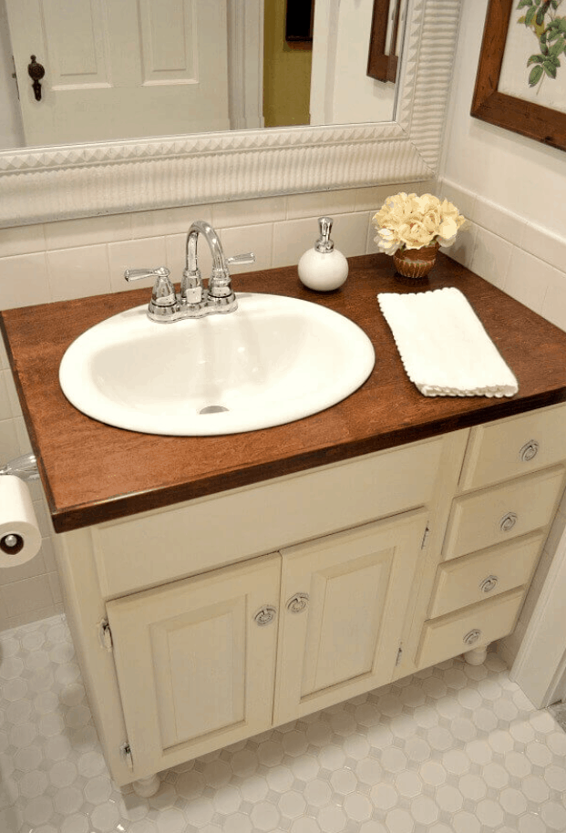 How to Build Beautiful DIY Wood Countertops in a Day