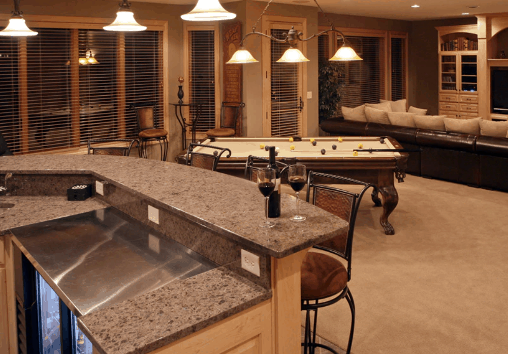How to Build Your Own Basement Bar at Home
