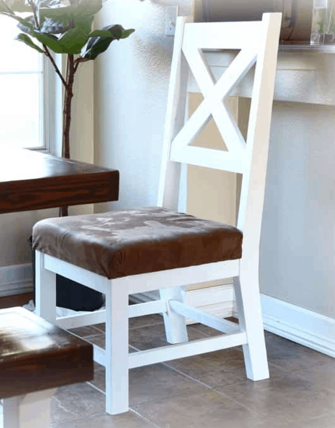 How to Build a DIY Farmhouse Chair