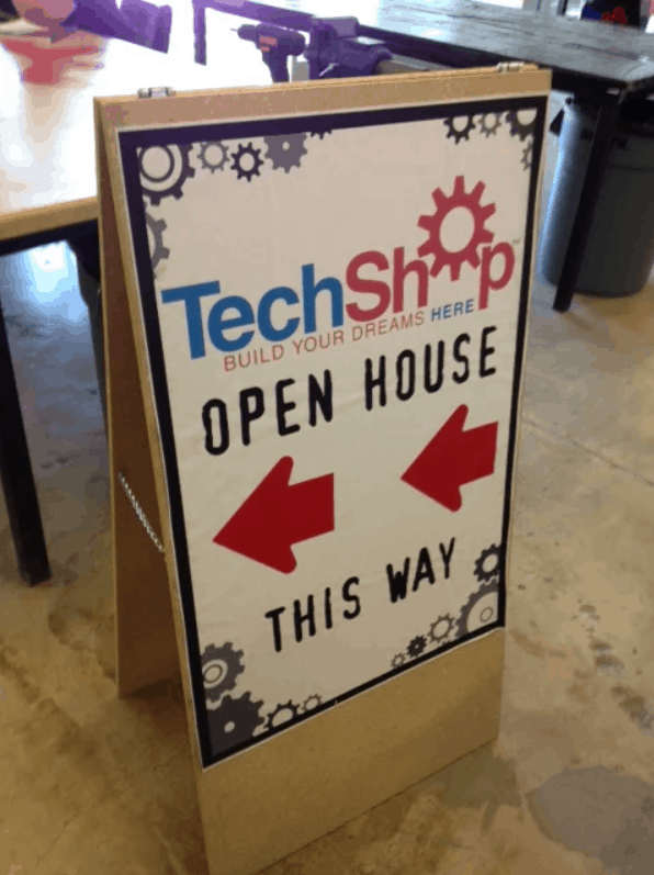 """How to Build a Sandwich Board, or an """"A"""" Sign"""