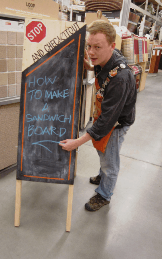 How to Build a Sandwich Board