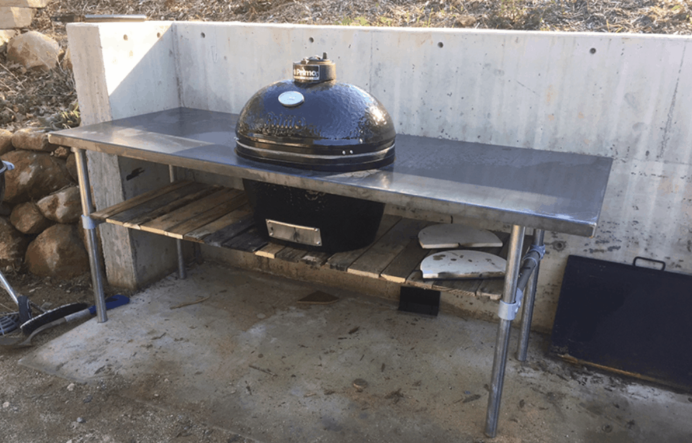 How to Build a Weber Grill Table