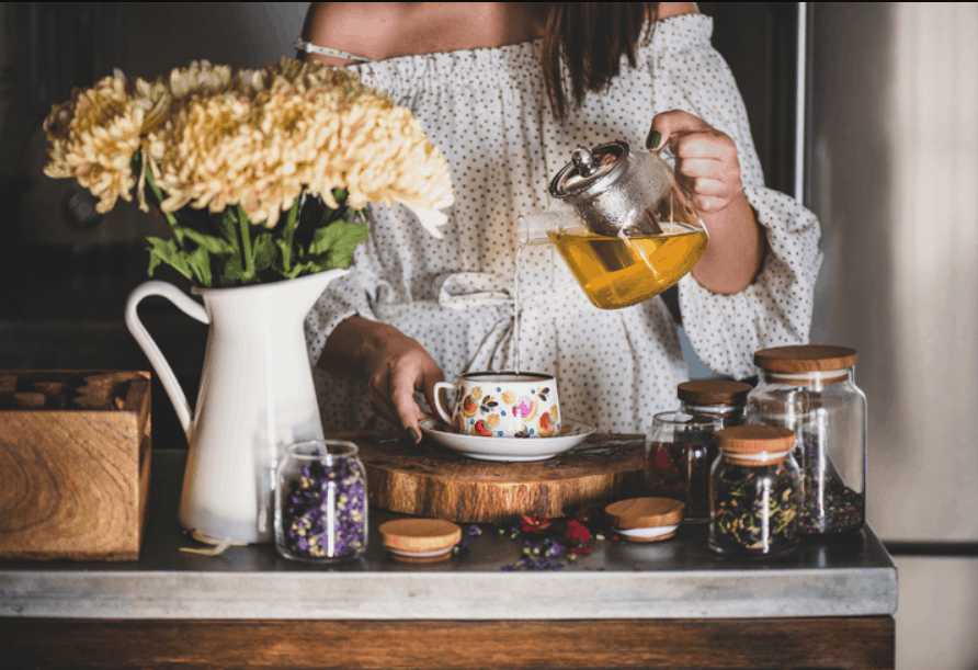How to Create Your Own DIY Coffee and Tea Station