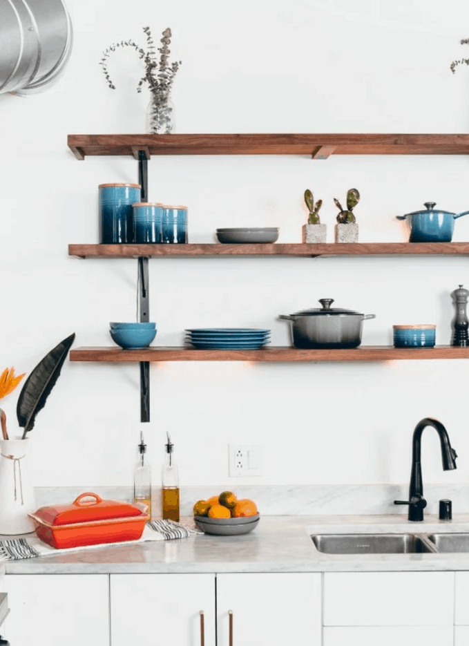 How to Install DIY Kitchen Shelves in Any Configuration You Fancy