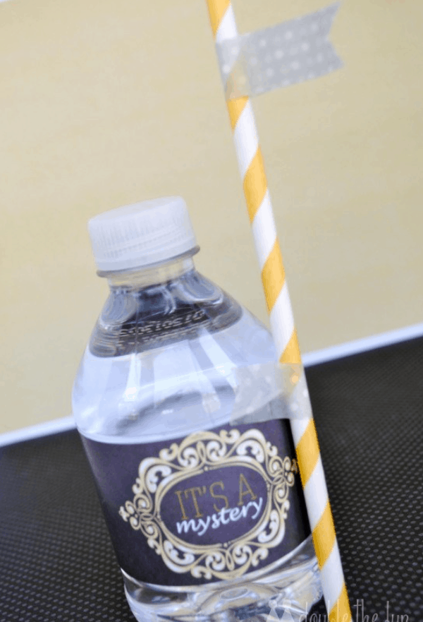 How to Make DIY Water Bottle Labels – Water Bottle Label Template