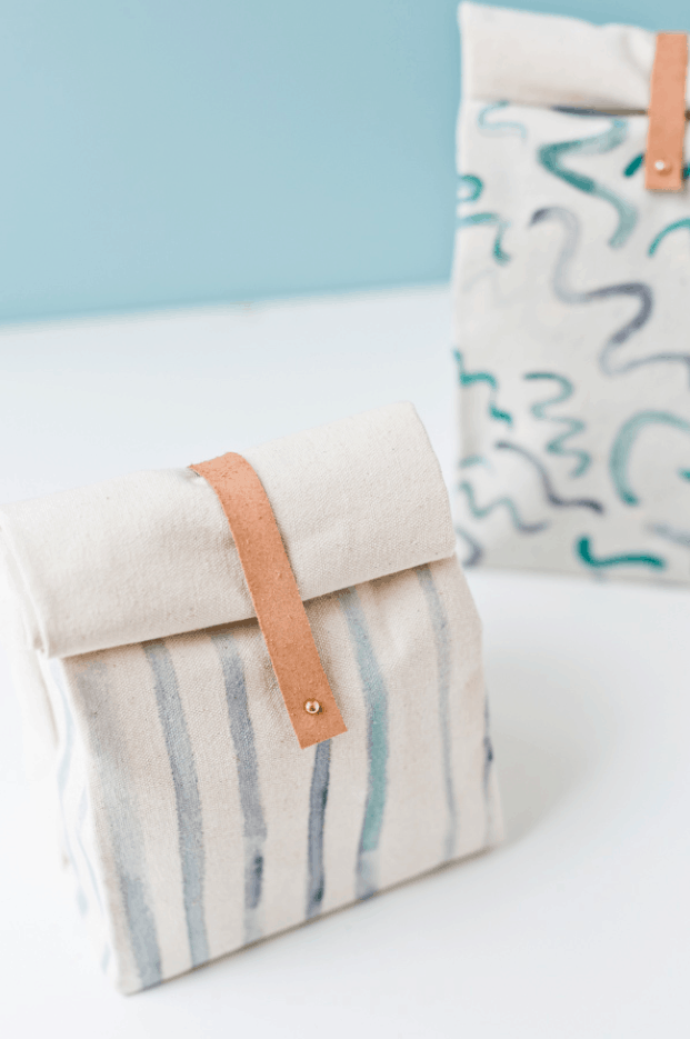 How to Make a Canvas Lunch Bag for Back to School