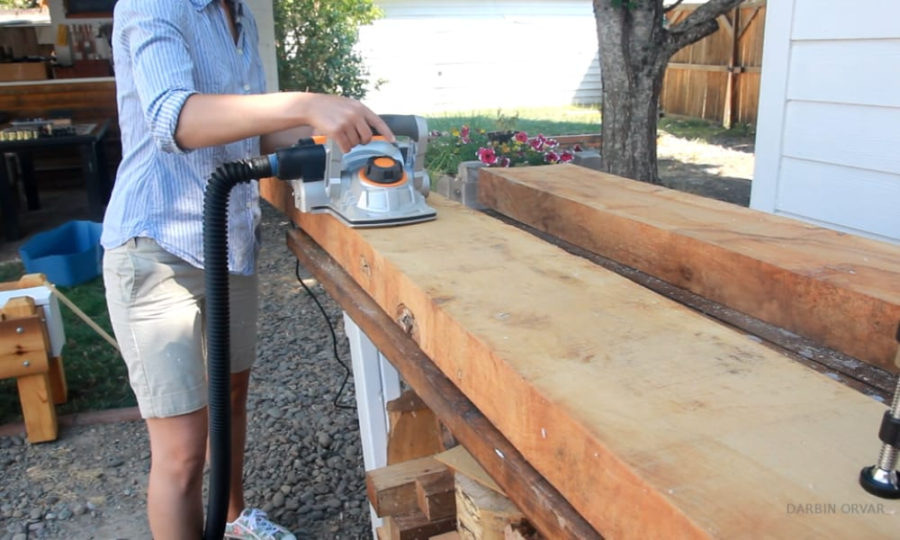 How to Make a Wooden Countertop