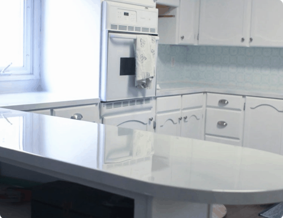 How to Paint Countertops to Look Like Marble