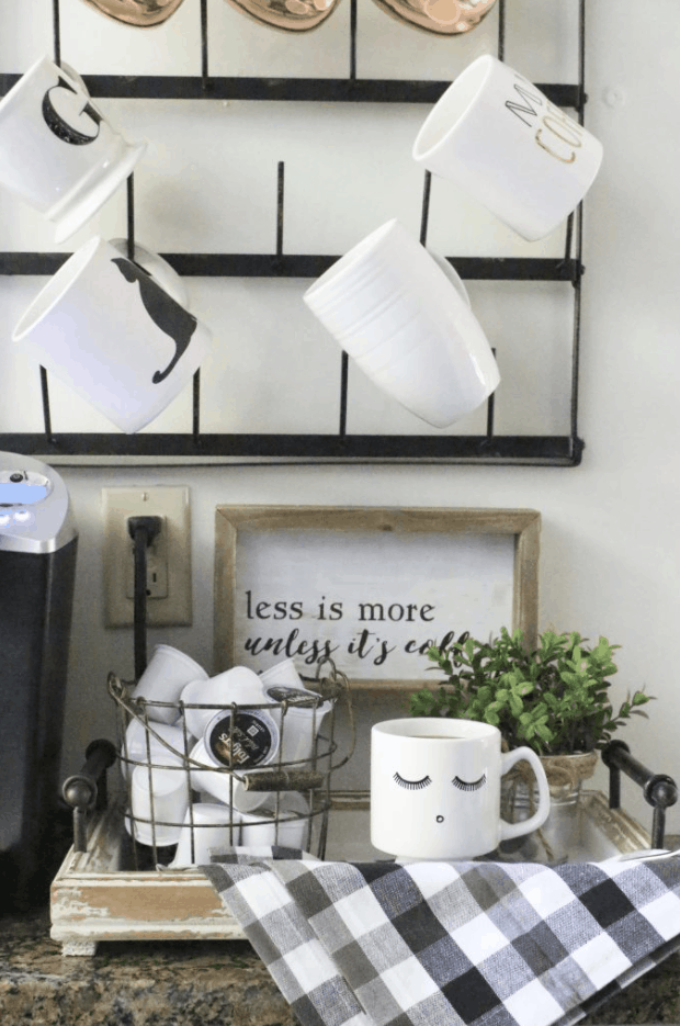 How to Set Up a Kitchen Coffee Station