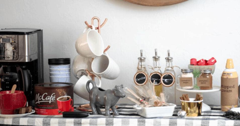 How to Setup a DIY Coffee Bar