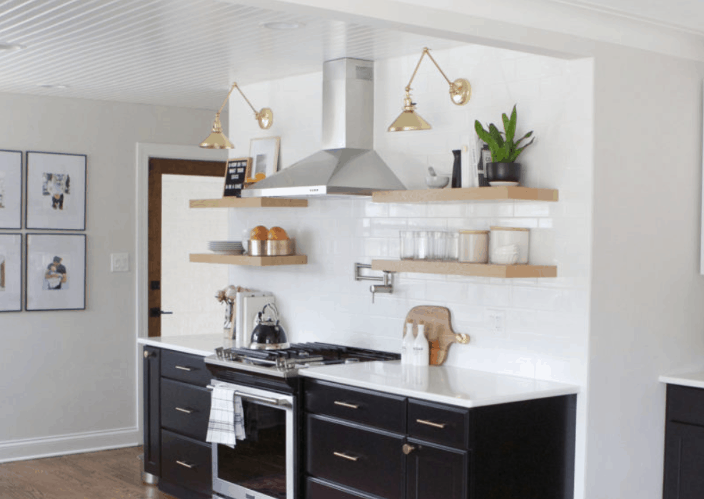 How to Style (and Organize!) Open Shelves in the Kitchen