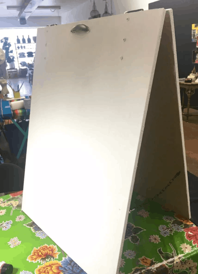 How to make sandwich board signs