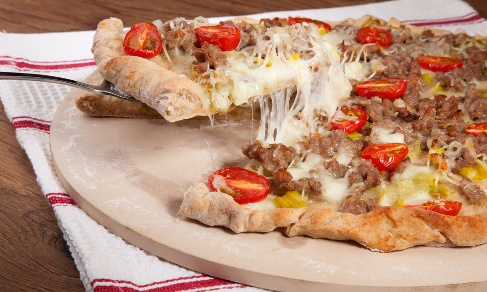 Make a Homemade Pizza Stone for $5