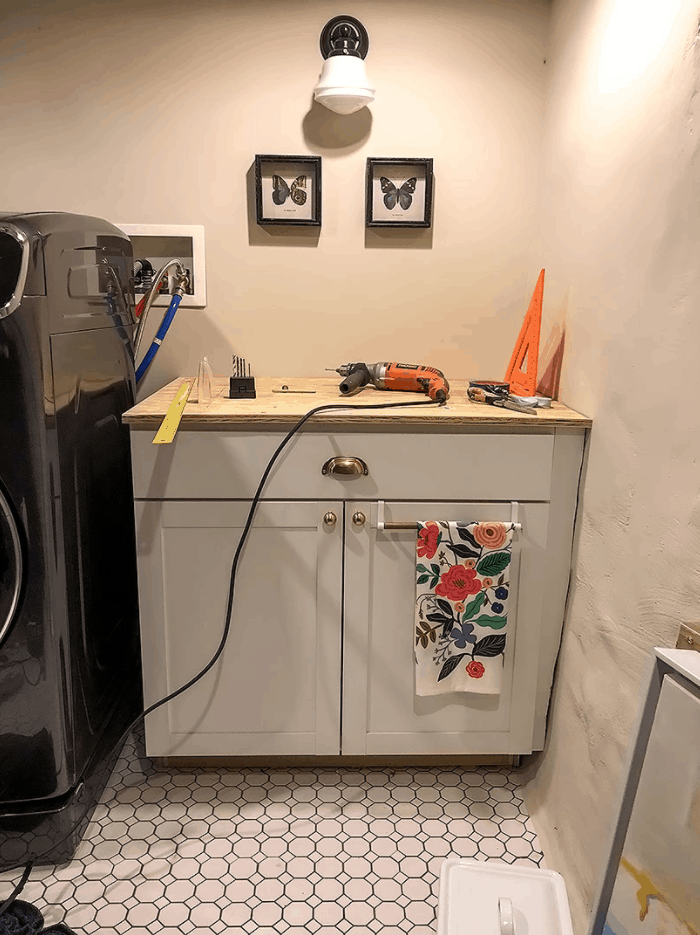 Making DIY Plywood Countertops