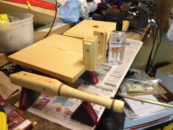 Making a Homemade DIY Tortilla Press